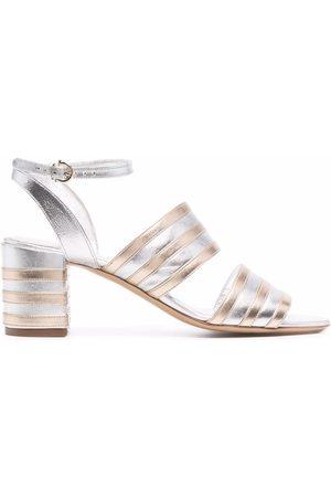 Salvatore Ferragamo 65mm two-tone sandals