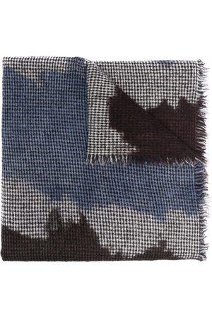 Faliero Sarti Raw-edge knitted scarf