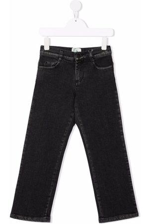 Fendi Kids Straight-leg denim jeans