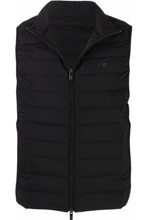 Emporio Armani Men Puffer Jackets - Padded gilet-jacket