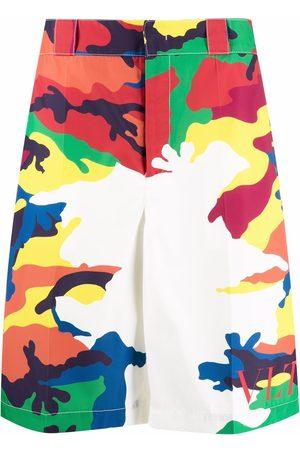 Valentino CAMOU7-print Bermuda shorts