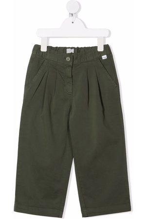 Il Gufo Wide-leg cotton trousers