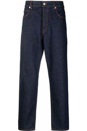 LOEWE Logo-patch straight jeans