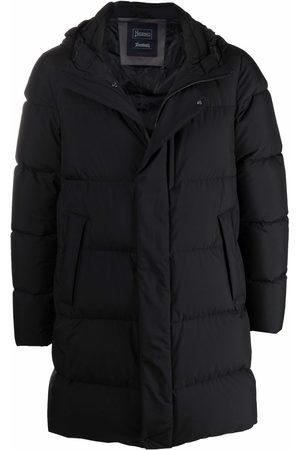 Herno Hooded knee-length padded coat