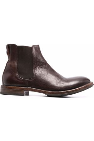 MOMA Distressed leather Chelsea boots