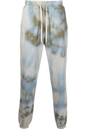 John Elliott LA tie-dye print track trousers