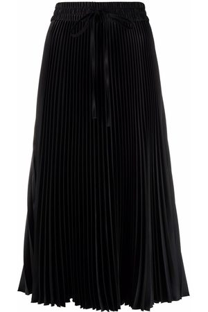 RED Valentino Women Pleated Skirts - High-waisted pleated skirt