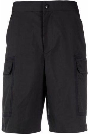 Valentino Men Bermudas - Panelled knee-length shorts