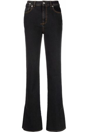 Alexander McQueen Narrow bootcut denim jeans