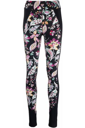 Isabel Marant Tisea floral-print leggings