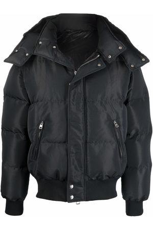 Alexander McQueen Men Puffer Jackets - Hooded padded jacket