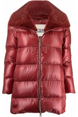 Herno Contrasting-panel padded coat