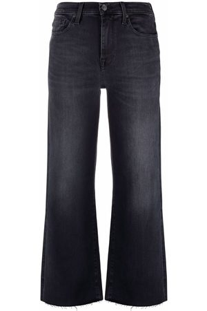 7 For All Mankind Mid-rise flared leg jeans