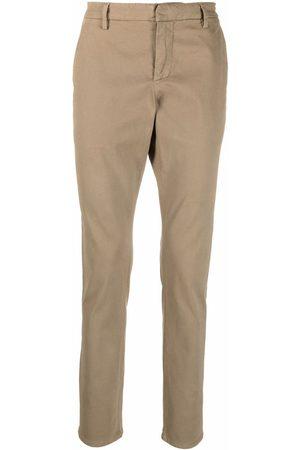 DONDUP Men Straight Leg Pants - Low-rise straight-leg trousers - Neutrals