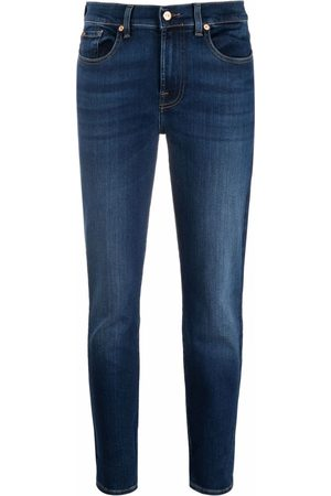 7 For All Mankind Mid-rise slim fit jeans