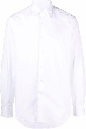 LANVIN Men Long sleeves - Long-sleeve button-up shirt
