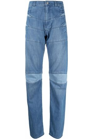 Kenzo Women High Waisted - High-rise straight jeans