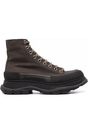 Alexander McQueen Men Boots - Tread Slick boots