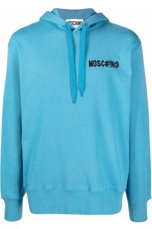 Moschino Symbols logo hoodie