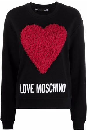 Love Moschino 3D heart sweatshirt