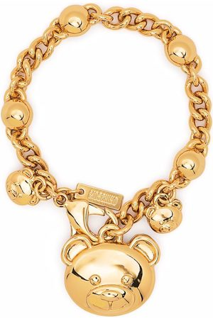 Moschino Teddy bear-charm bracelet