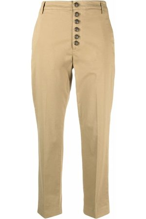 Dondup Button-up cropped chinos