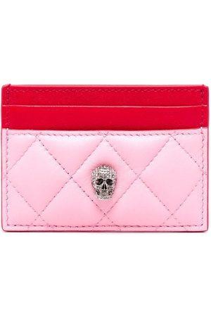 Alexander McQueen Skull charm cardholder wallet