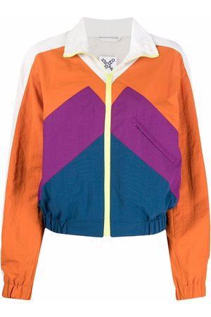 Kenzo Colour-block lightweight bomber jacket