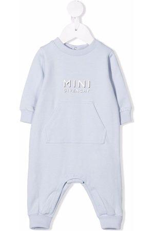 Givenchy Kids Logo-print long-sleeved romper