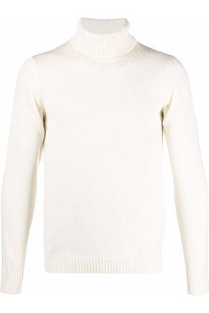 Roberto Collina Roll-neck wool jumper - Neutrals