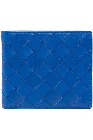 Bottega Veneta Intrecciato-pattern folding wallet