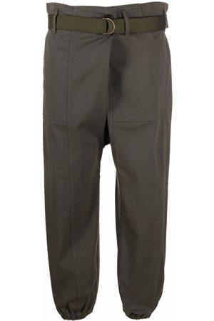Semicouture Agathe cargo-wrap trousers