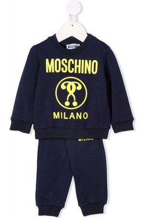 Moschino Kids Logo tracksuit set
