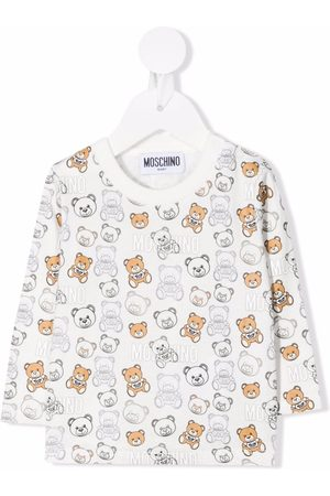 Moschino Kids All-over teddy bear sweatshirt