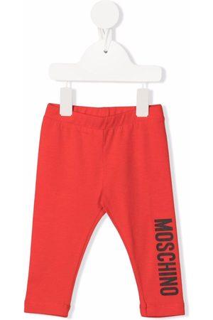 Moschino Kids Logo-print leggings