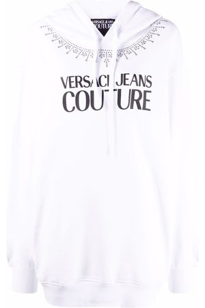 Versace Jeans Couture Logo-print pullover hoodie
