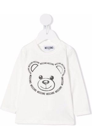 Moschino Kids T-shirts - Teddy bear print T-shirt