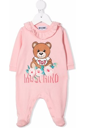 Moschino Pajamas - Floral teddy bear pajamas