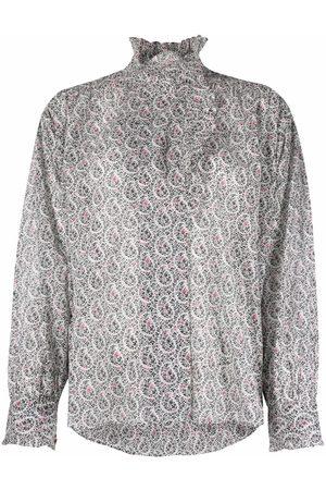 Isabel Marant Étoile Pamias flower-print blouse - Neutrals