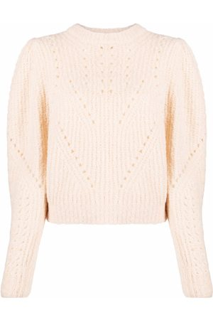 Ulla Johnson Long-sleeve knitted jumper - Neutrals