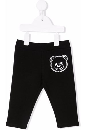Moschino Kids Teddy bear print tracksuit bottoms