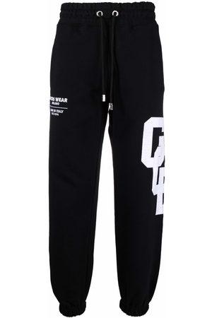 Gcds Men Sweatpants - Logo patch sweatpants