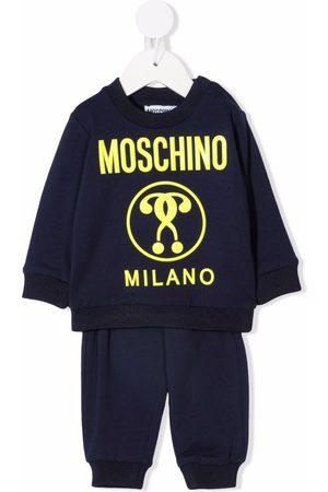 Moschino Kids Logo-print tracksuit set
