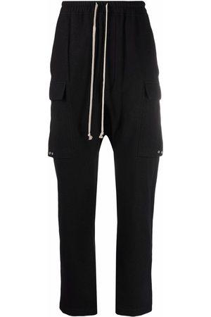 Rick Owens Cargo drop-crotch trousers