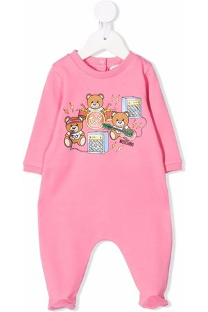 Moschino Kids Toy bear band pyjama suit