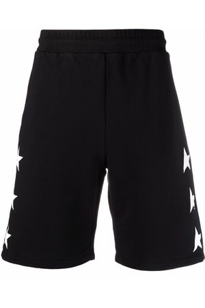 Golden Goose Men Bermudas - Star-print shorts