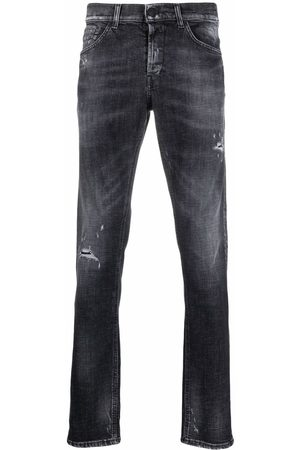 DONDUP Slim-cut faded jeans - Grey