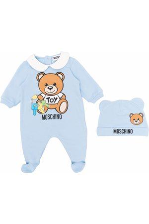 Moschino Kids Teddy bear keys pyjamas