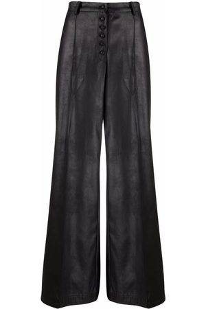 Atu Body Couture High-waisted wide leg trousers