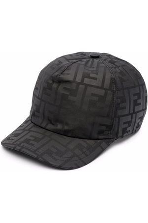 Fendi Kids Logo-print cotton baseball cap